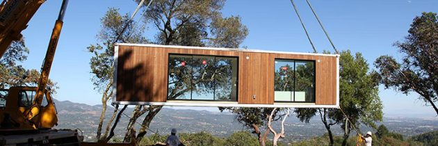 Built In One Day Prefab Homes